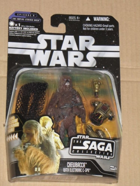 54 - Chewbacca with Electronic C-3PO