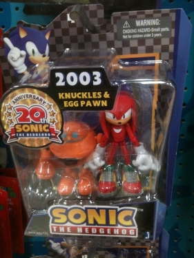 Knuckles & Egg Pawn - 2003