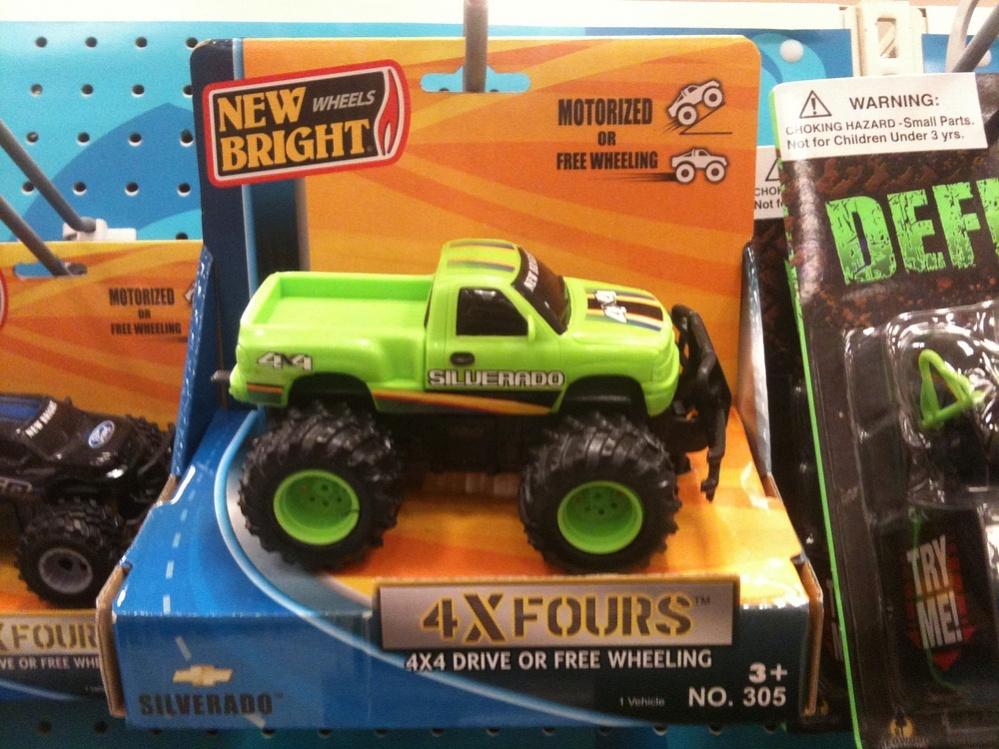 Toys 4 Trucks Green Bay : Chevy silverado fours new bright toyfinity