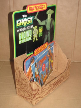 The Ghost of Cap\'n Kidd Store Display
